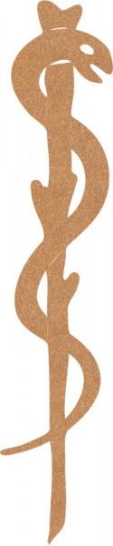 Äskulapstab - Zeichen für Göttin der Heilkunde