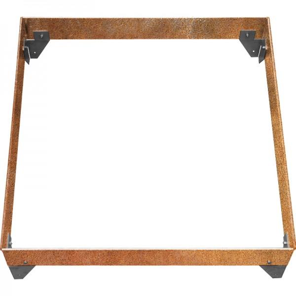GreenLiner Stahl-Quadrat 100/10-100/100