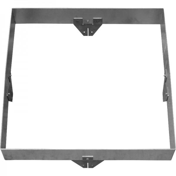 GreenLiner Stahl-Quadrat 150/4V-100/100