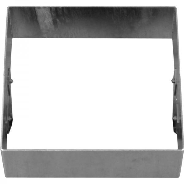 GreenLiner Stahl-Quadrat 150/4V-50/50