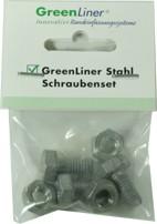 GreenLiner Stahl Schraubenset
