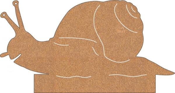 Schnecke groß kriechend