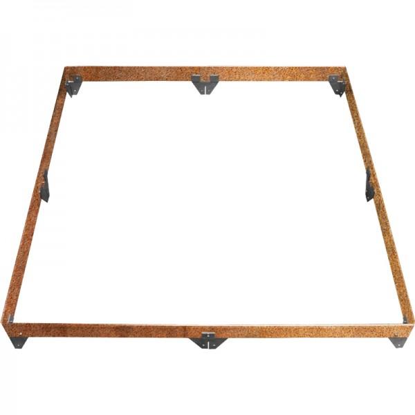 GreenLiner Stahl-Quadrat 100/10-200/200