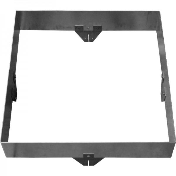 GreenLiner Stahl-Quadrat 200/4V-100/100