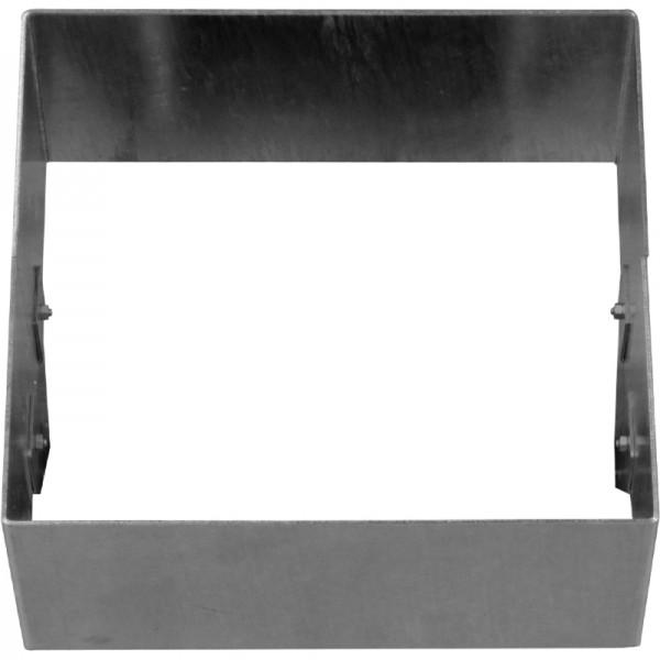 GreenLiner Stahl-Quadrat 200/4V-50/50