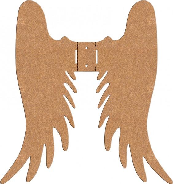 Baumengelflügel - 2-teilig (nach Anrostung)