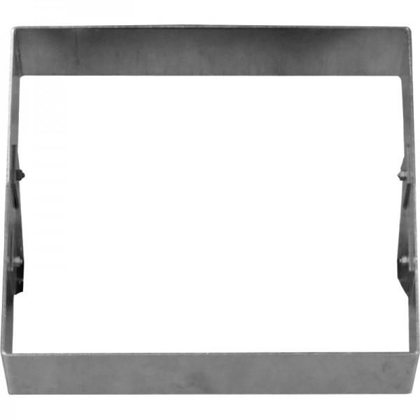GreenLiner Stahl-Quadrat 100/4V-50/50