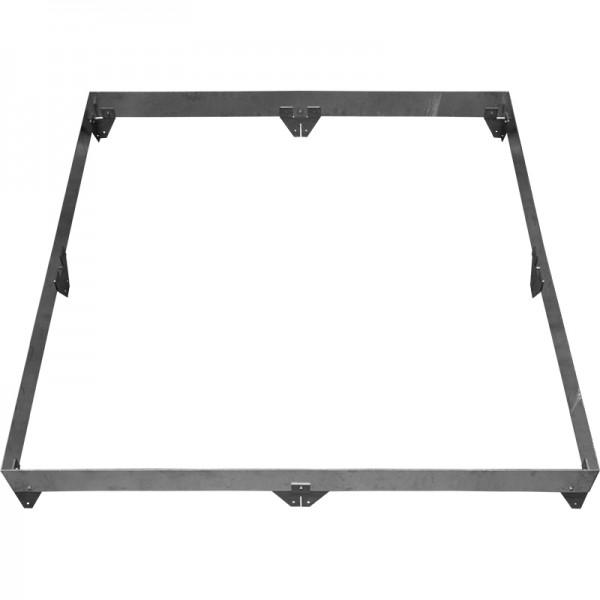 GreenLiner Stahl-Quadrat 150/4V-200/200