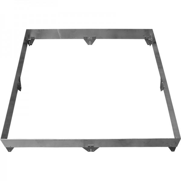 GreenLiner Stahl-Quadrat 200/4V-200/200