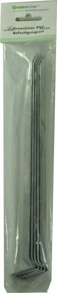 GreenLiner PVC/PE Befestigungs-Set für 1 Profil/2m