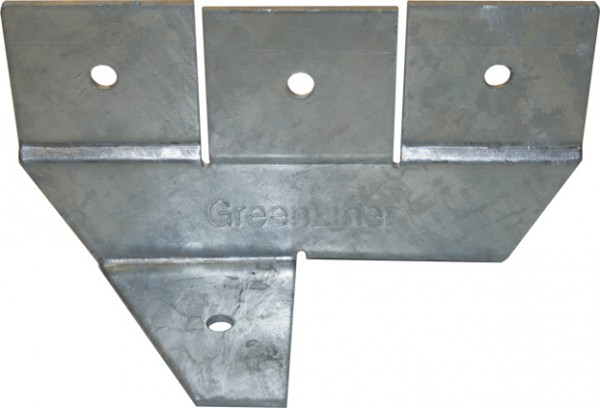 GreenLiner Stahl Fundamentschuh-Dach