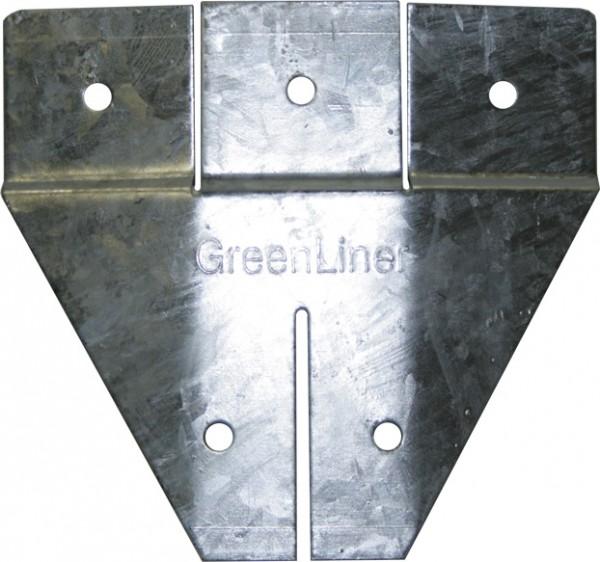GreenLiner Stahl Fundamentschuh - Ring