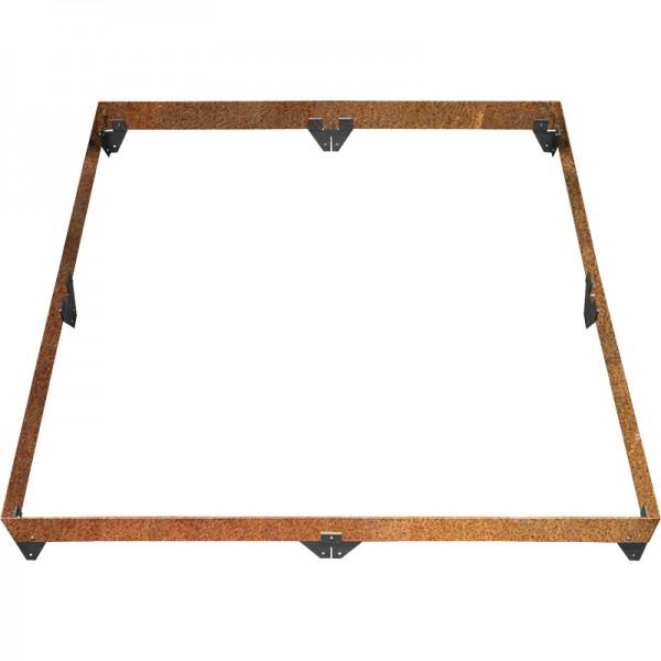 GreenLiner Stahl-Quadrat 150/4CT-200/200