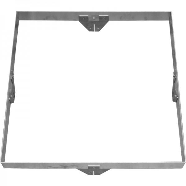 GreenLiner Stahl-Quadrat 100/4V-100/100